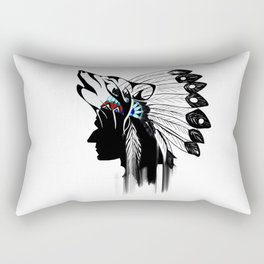 Indian Americans,indigenous,native people Rectangular Pillow