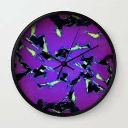 An interrupted glow 2 Wall Clock