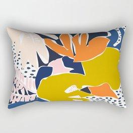 Modern flowers - design for a happy life Rectangular Pillow