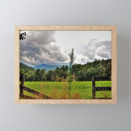 Iolta Valley Framed Mini Art Print