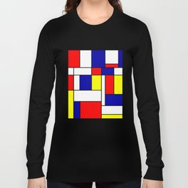 Mondrian #38 Long Sleeve T-shirt