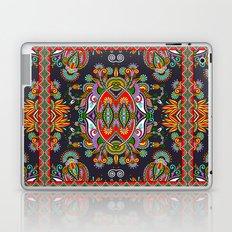 Red & Blue Boho Fantasy Pattern Laptop & iPad Skin