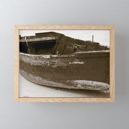 Boat Framed Mini Art Print