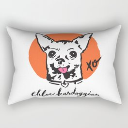 Chloe Kardoggian Illustration with Signature Rectangular Pillow