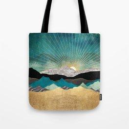 Peacock Vista Tote Bag
