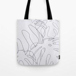 Monstera Illustration 02 Tote Bag