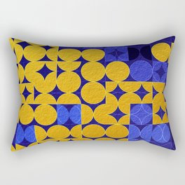 Geometric XIX Rectangular Pillow