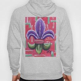 Fleur de Lis Iris Hoody
