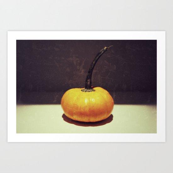One Fine Pumpkin Art Print