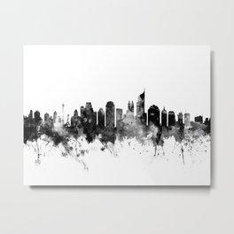 Jakarta Skyline Indonesia Metal Print