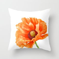 Perfect Poppy Throw Pillow