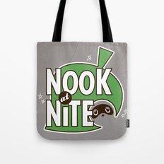 Nook at Nite Tote Bag
