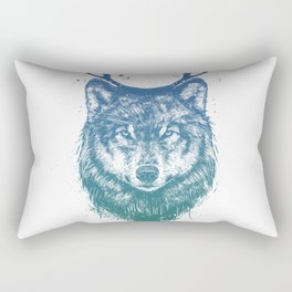 Deer wolf Rectangular Pillow
