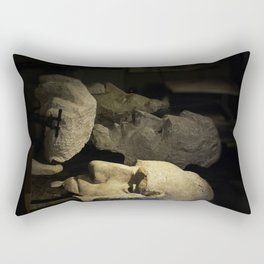 Faces of Rushmore Rectangular Pillow