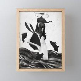 A Mile Away From Anywhere Framed Mini Art Print