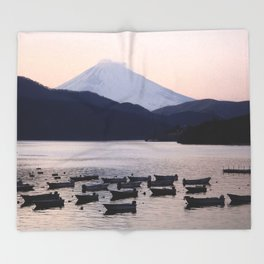 Lonely after Dark (Japan) Throw Blanket