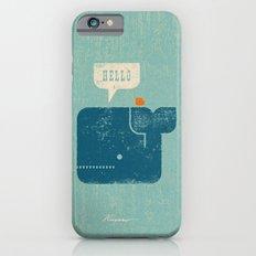 Whale Says Hello to Bird iPhone 6s Slim Case