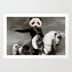 Viva La Pandalución Art Print