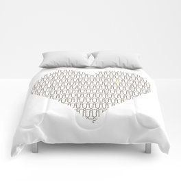 Penis at heart Comforters
