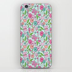 Sweetheart Aqua iPhone & iPod Skin