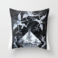 Aconitum Throw Pillow