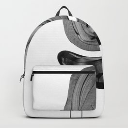 Black & White Bubble - Abstract Dreams Art Andalucia Backpack