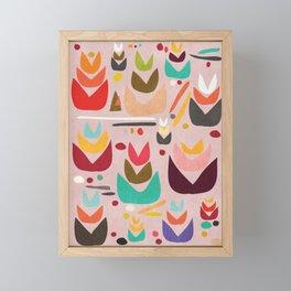 Proud Garden Framed Mini Art Print