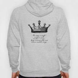 Shakespeare - Richard III - Kings it Makes Gods Hoody