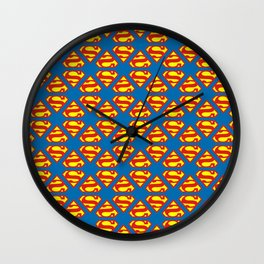 Superman 1978 Wall Clock