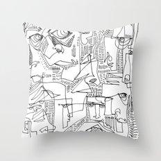 Hooligans Throw Pillow