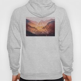 The Elements Geometric Nature Element of Fire Hoody