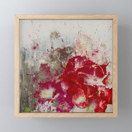 Petunias Framed Mini Art Print
