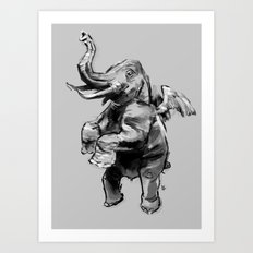Fly Heavy Art Print