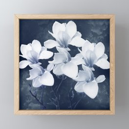 Magnolia 3 Framed Mini Art Print
