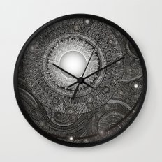 Luna Kiss Wall Clock