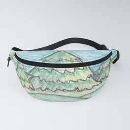 Evergreen trees Fanny Pack