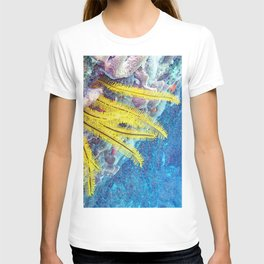 Watercolor Sea Life T-shirt