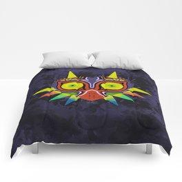 Majora's Mask Splatter Comforters