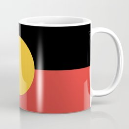 Australian Aboriginal Flag Coffee Mug