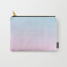 VAPORWAVE - Minimal Plain Soft Mood Color Blend Prints Carry-All Pouch