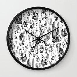 Carnivore B&W Wall Clock