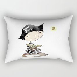 the little swashbuckler Rectangular Pillow