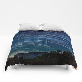 Star trail Comforters