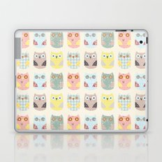 owls pattern Laptop & iPad Skin