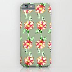 Fleur/ flowers Slim Case iPhone 6s