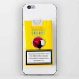 pixel spirit iPhone Skin