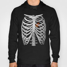 I am empty, I am skin and bones, I'm a ribcage Hoody