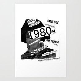 Misanthrope 80's Shirt Art Print