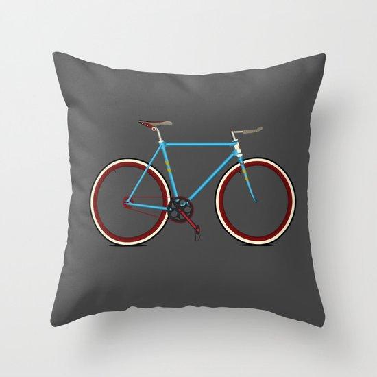 Bike Throw Pillow