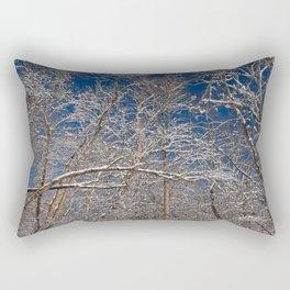 Susquehanna Winter Foliage Rectangular Pillow